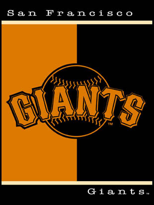 San francisco giants 60 x 80 all star collection blanket - Sf giants wallpaper border ...