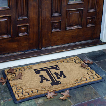 Texas A Amp M Aggies Ncaa College Rectangular Outdoor Door Mat