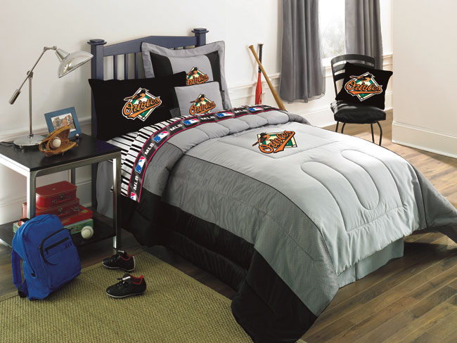Baltimore Orioles Crib Bedding