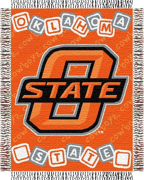 Oklahoma State Cowboys Ncaa College Baby 36 Quot X 46 Quot Triple
