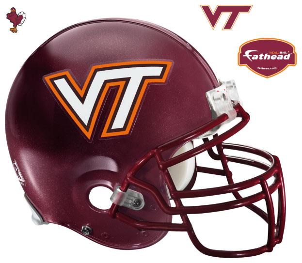 Virginia Tech Helmet Fathead Ncaa Wall Graphic