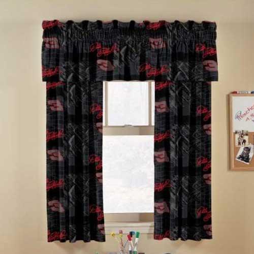 Dale Earnhardt Sr Short Window Curtains