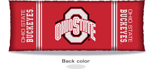 Ohio State Buckeyes Body Pillow
