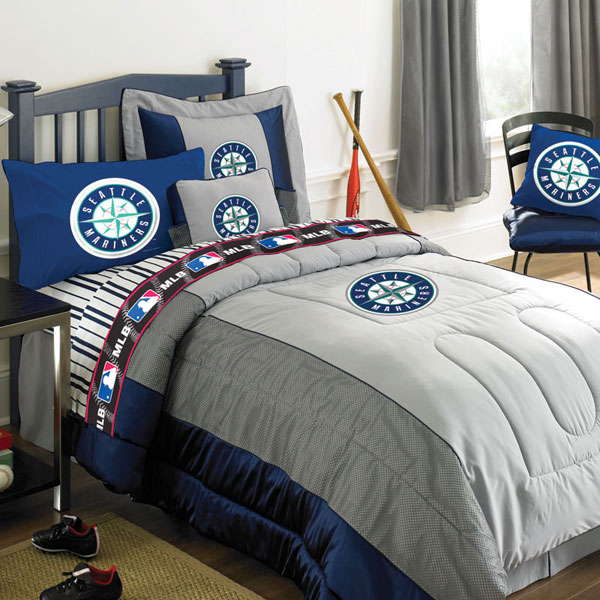 Seattle Mariners Mlb Authentic Team Jersey Bedding Twin
