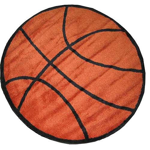 Large Basketball Area Rug: Basketball Rug