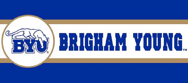Brigham Young Cougars Byu Wallpaper Border