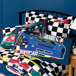 NASCAR Checkered Flag Pillow Case