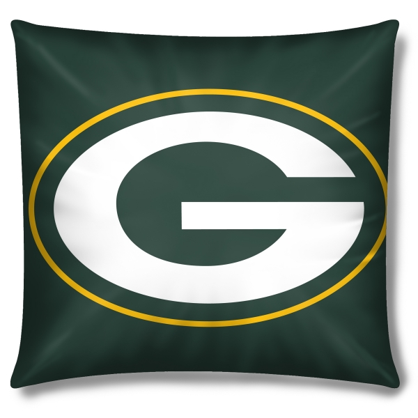 Green Bay Packers Nfl 16 Quot Embroidered Plush Pillow With