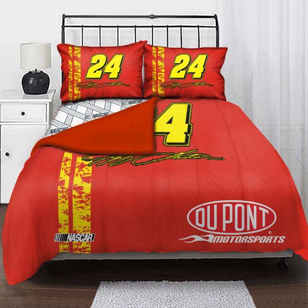 Jeff Gordon Queen Bedding Sets