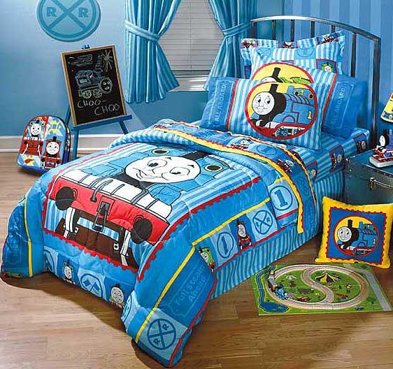 Thomas and Friends Full Comforter / Sheet Set