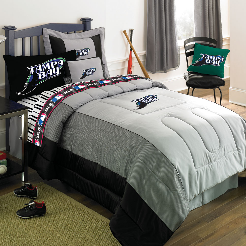 ta bay devil rays mlb authentic team jersey bedding