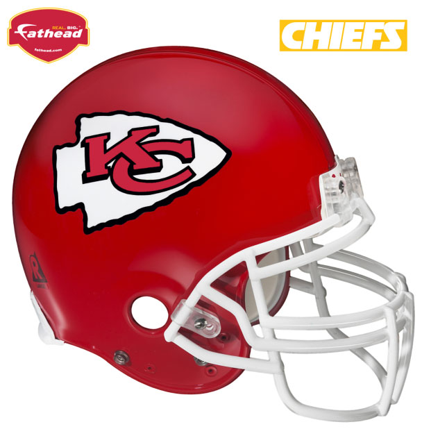 Kansas City Chiefs Helmet Fathead Nfl Wall Graphic