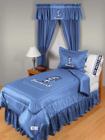North Carolina Tarheels Unc Locker Room Comforter Sheet Set