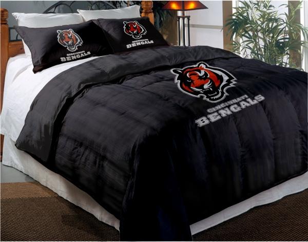 Cincinnati Bengals Nfl Twin Chenille, Bengals Queen Bedding
