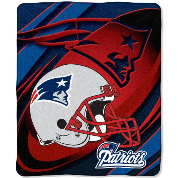 New England Patriots Nfl Micro Raschel Blanket 50 Quot X 60 Quot