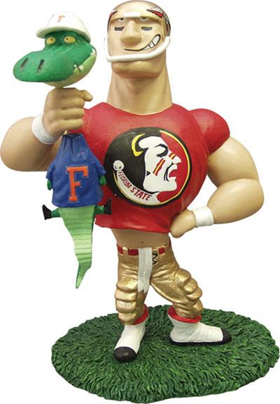 Florida Seminoles Ncaa College Rivalry Mascot Figurine