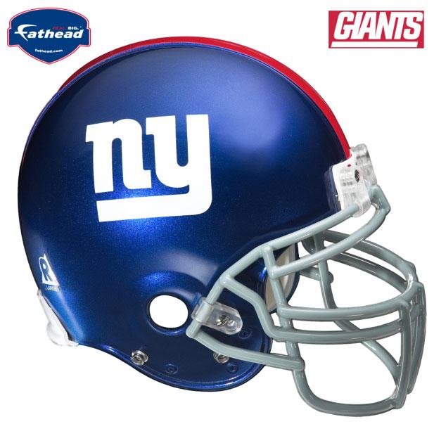 New York Giants Helmet Fathead NFL Wall Graphic