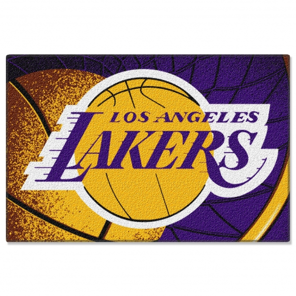 Http Www Familybedding Com 1 866 925 6650 Products Los Angeles Lakers Nba 39 X 59 Tufted Rug Html