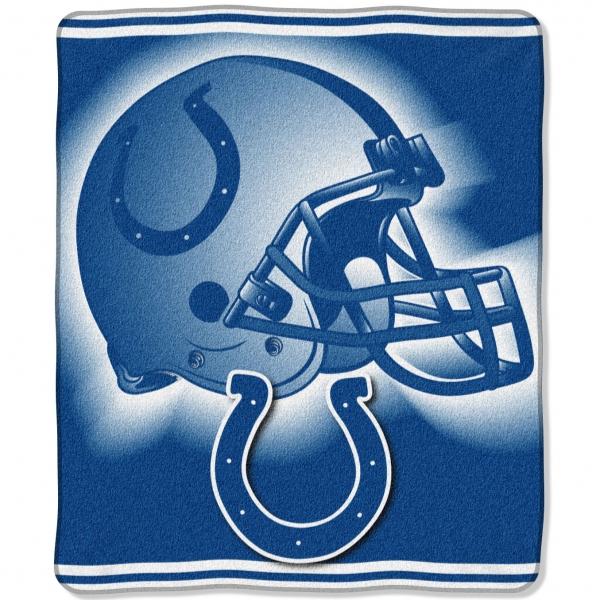 "Indianapolis Colts NFL ""Tonal"" 50"" x 60"" Super Plush Throw"