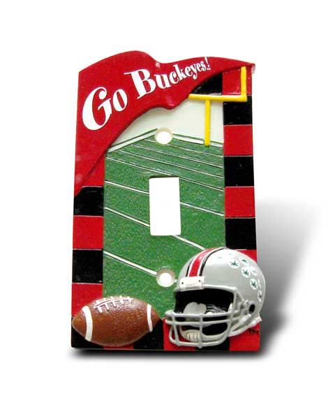 Ohio State University Light Switch Cover