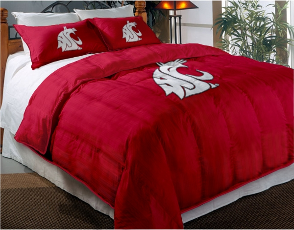 Washington State Cougars College Twin Chenille Embroidered