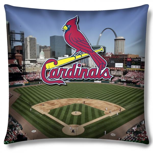 "St. Louis Cardinals MLB ""Stadium"" 18""x18"" Dye Sublimation"
