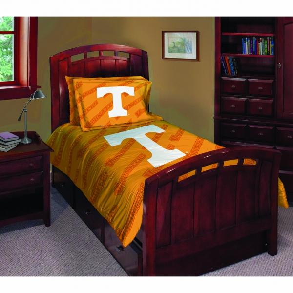 Tennessee Volunteers Ncaa College Twin Comforter Set 63 Quot X 86 Quot