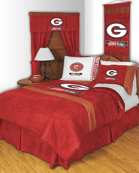 Georgia Bulldogs MVP Shower Curtain. Zoom