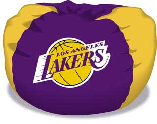 Los Angeles Lakers Bean Bag Zoom