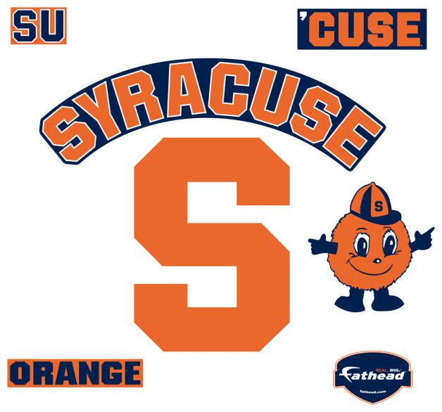 Syracuse Logo Fathead Ncaa Wall Graphic