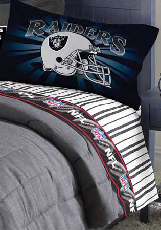 Oakland Raiders Pillow Case