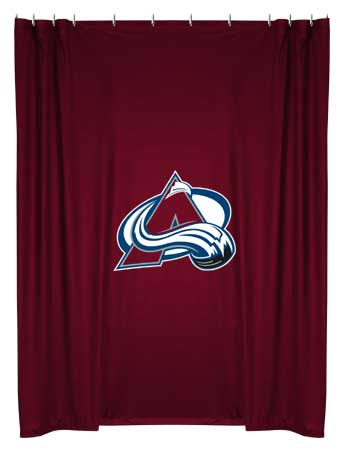 NHL Shower Curtain   BathTimeShowerCurtains.com   Page 1