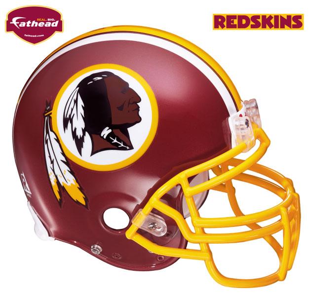 Washington Redskins Helmet Fathead Nfl Wall Graphic