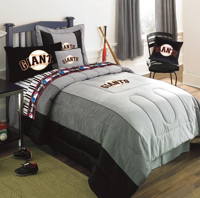 San Francisco Giants Denim Toss Pillow