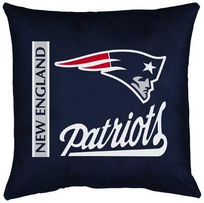 New England Patriots Locker Room Toss Pillow