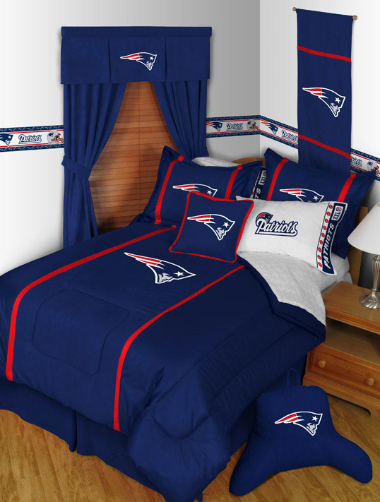 New england patriots mvp shower curtain - New england patriots bedroom accessories ...