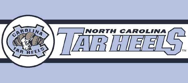 """North Carolina Tarheels UNC 7"""" Tall"""