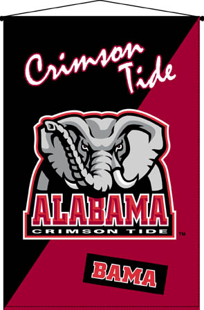 Alabama Crimson Tide 29 Quot X 45 Quot Deluxe Wallhanging
