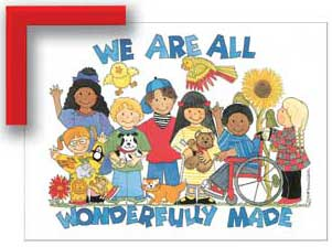 We Are All Wonderfully Made Print Only