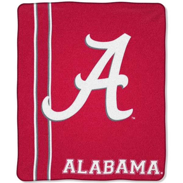 Alabama Crimson Tide College Quot Jersey Quot 50 Quot X 60 Quot Raschel Throw