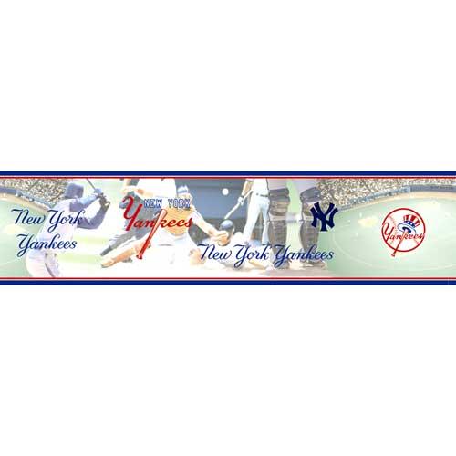 New York Yankees Mlb Wall Border