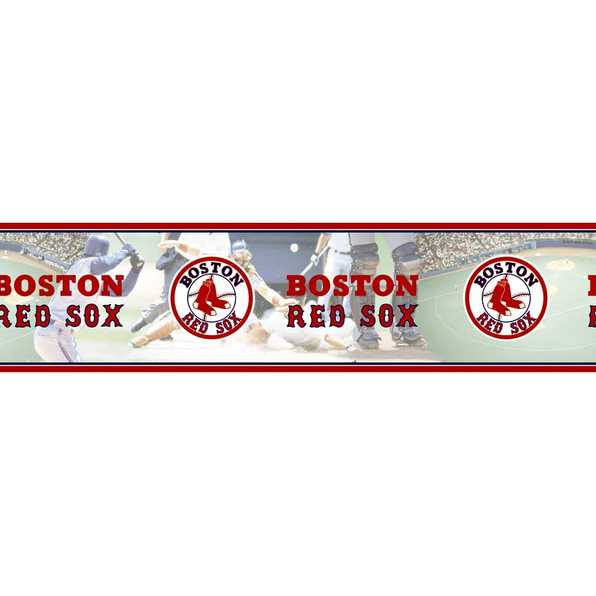 Boston Red Sox MLB Wall Border - FamilyBedding.com