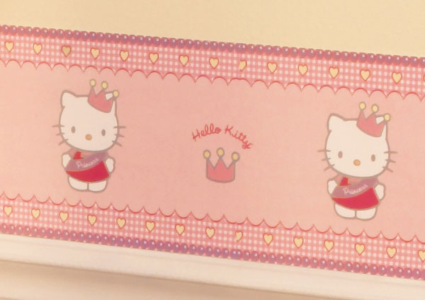 Hello Kitty Princess Wallpaper Border