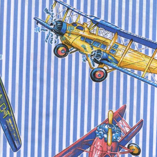 Red baron fabric by the yard airplane for Airplane fabric by the yard