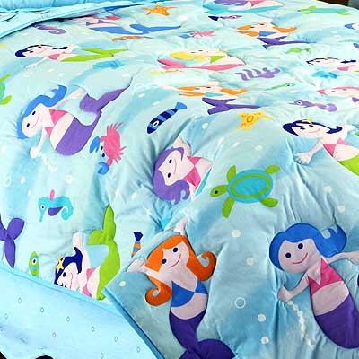 Queen Comforters on Mermaids Full   Queen Comforter