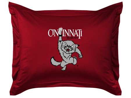 Cincinnati Bearcats Locker Room Pillow Sham