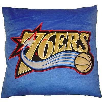 Philadelphia 76ers 16 Quot X 16 Quot Novelty Plush Pillow