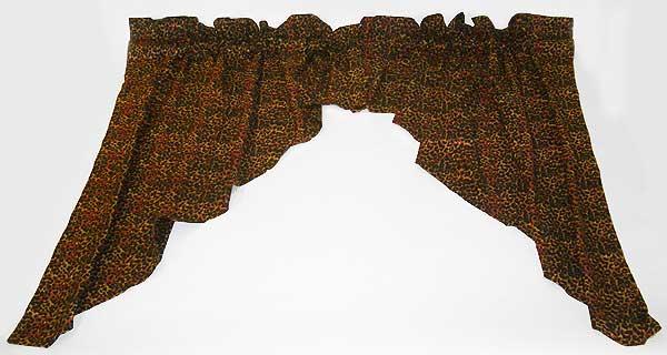 Cheetah+Curtains cheetah swag curtains under clearance items cheetah ...