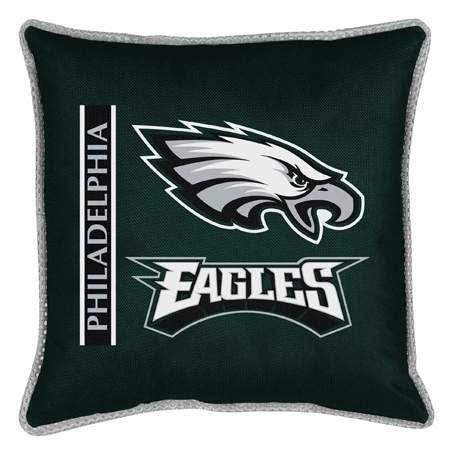 Philadelphia Eagles Side Lines Toss Pillow