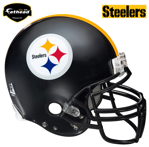 Pittsburgh Steelers Helmet Fathead Nfl Wall Graphic